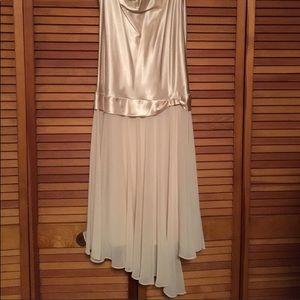 Dress by Liz Claiborne. Beautiful! Champagne sz 12